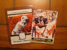 Bo Jackson and Carnell Williams