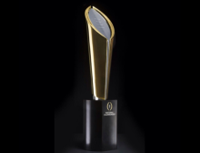 2014 national championship trophy