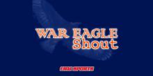 war eagle shout