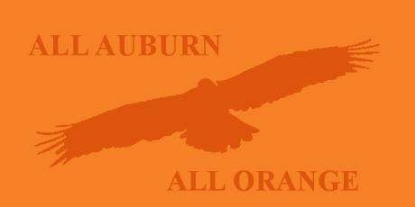 All Auburn All Orange War Eagle