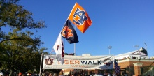 Tiger Walk Auburn vs South Carolina
